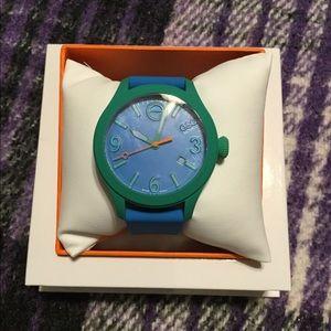 Esq Movado Dial Green men's wrist watch